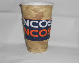 Denver Broncos Coffee Cup Cozy