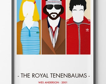 The Royal Tenenbaums Poster - Wes Anderson