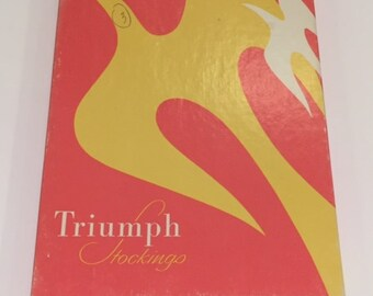 3 Pairs Triumph Vintage Seamed Stockings