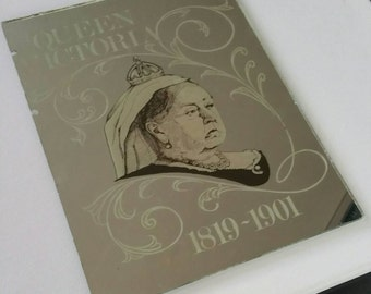 Queen Victoria Picture Mirror