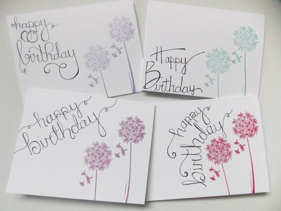geburtstagskarte birthday card pack von vier l wenzahn. Black Bedroom Furniture Sets. Home Design Ideas