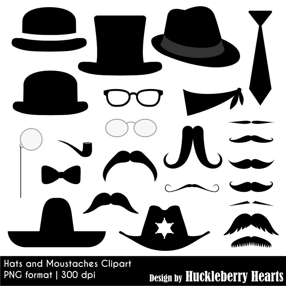 Promotion De Lautomne Moustache Moustache Et Chapeau