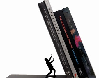 Bookend - Designed Bookend-laser cut bookend -Book Accessories -  Bookends