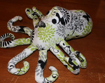 Custom made stuffed octopus/plushie