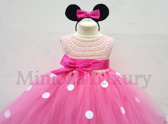 Minnie mouse dress minnie mouse birthday dress Flower girl
