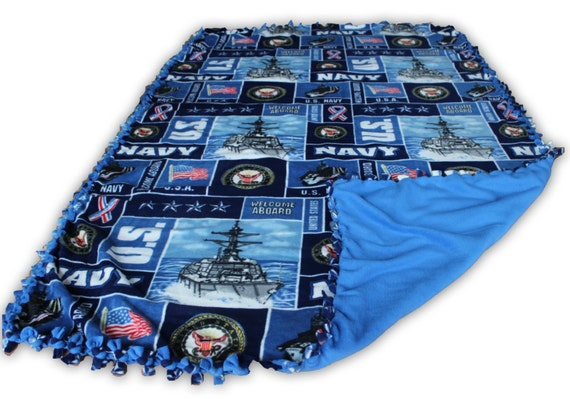US Armed Forces Fleece Throw Blanket | Marine Corps Blanket | Army Blanket | US Navy | Air Force Fleece | Salute to Service Blankets