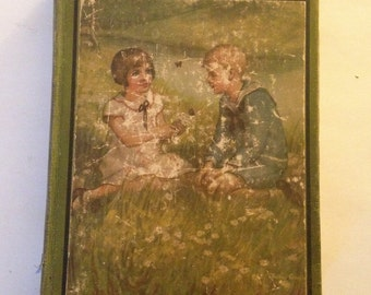 Antique The Bobbsey Twins at School, Children's Books, Children's Series, Vintage Bobbsey Twins, 1913