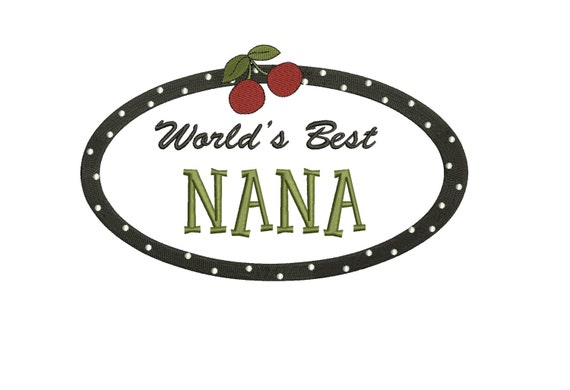 World S Best Nana Embroidery Design