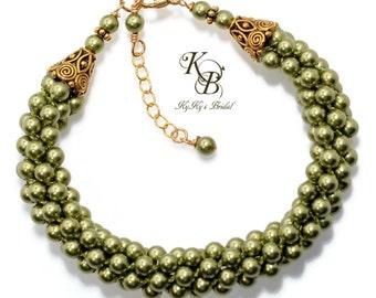 Pearl Bridesmaid Bracelet, Gold Bridesmaid Bracelet, Bridesmaid Jewelry, Bridal Jewelry, Pearl Bracelet, Pick Your Color, Kumihimo Bracelet