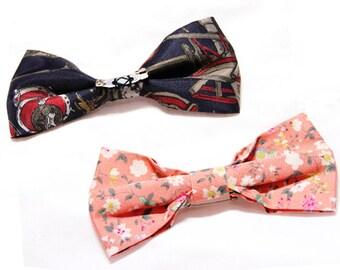 Smart handy bow tie brooch