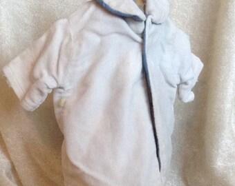Vintage Blue Doll Coat