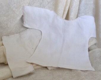 Vintage Chemise Underwear For shoulder head Doll & Bloomers