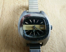 BEAUTIFUL 70s automatic watch Deman 17 rubis incabloc Swiss made - good conditions and perfectly working