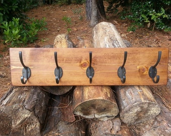 Rustic Coat Rack