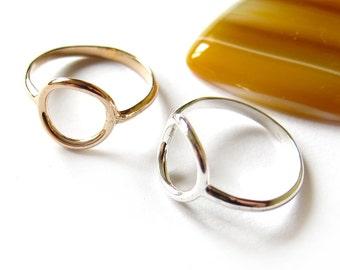 Ring, circle 12mm