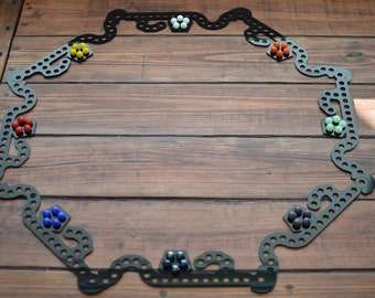 Jokers and Marbles Game - Up to 8 Players - Marbles Pursuit - ABS - Pegs and Jokers - Marble Game - Sorry Game - Parchessi