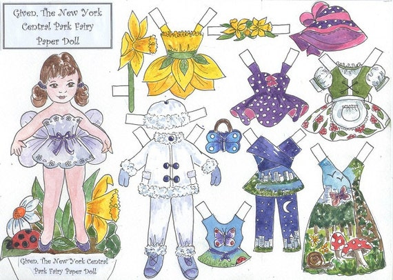 Paper doll nyc