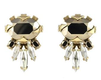 Cirripedia Metallic Light Gold Earrings