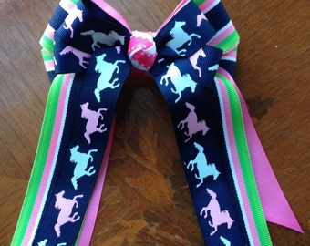 Pony Horse Show Bows/leadline/short stirrup