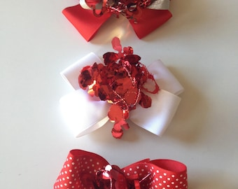 Valentine Loopy Bow
