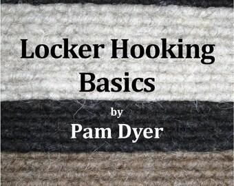 locker hook rug instructions
