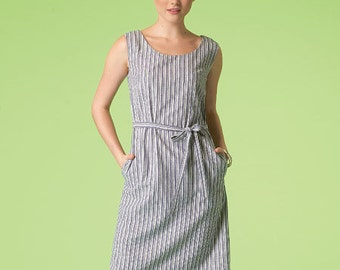 McCall's Pattern M7120 Misses' Dresses and Belt