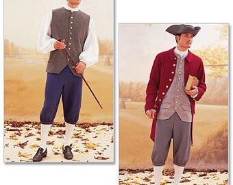 Butterick Pattern B3072 Coat, Vest, Shirt, Pants and Hat
