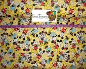 Disney Mickey and Minnie Togetherness - Springs Creative - Cotton fabric - Choose your cut