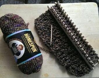 "Knitting Rake by WEAVABLES  12"" Wooden Knitting Rake"