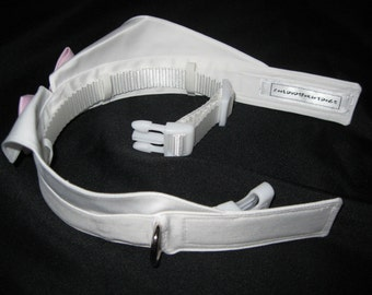 Hidden Collar Feature for Leash Attachment~ADD-ON feature for Wedding Tuxedo Collar