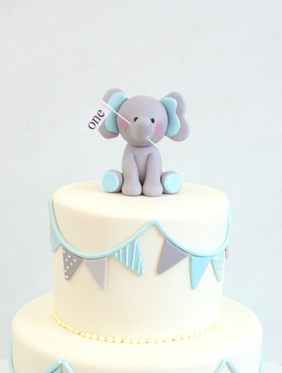 How To Make A Fondant Elephant Cake Topper