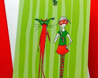 12 Christmas Cards! You pick the colors!