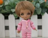 Pink set  for lati white