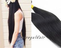 Straight Brazilian Virgin Remy Hair Extension Weft, 6A Quality 100% Human Hair Bundle RHS300