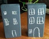 Chalkboard Building Blocks