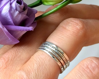 Stack Rings Silver (925)