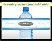 Custom Water Bottle Labels - Personalized Water Bottle Labels - Business Water Bottle Labels – Personalized Business Water Bottle Labels