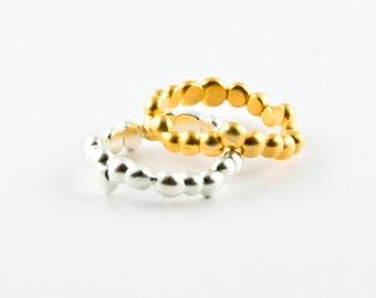"Silver ring ""Alice"""