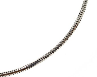Snake Chain in 14K White Gold