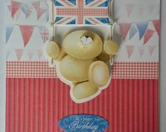 A5 Handmade 3D Greeting Card - Birthday