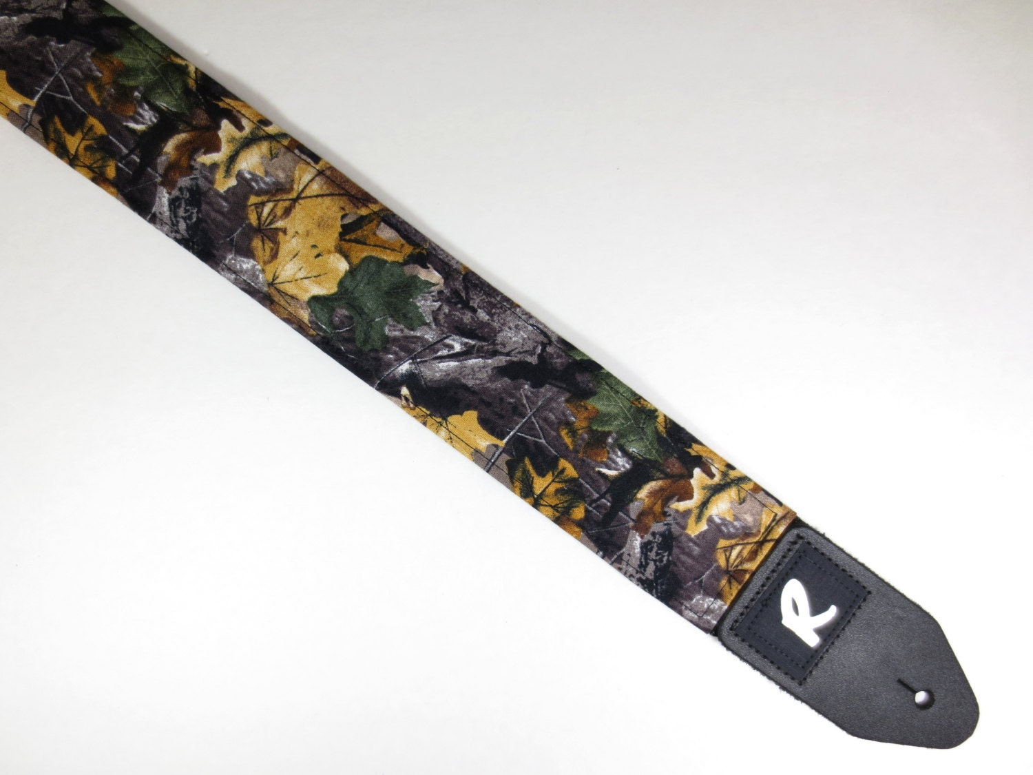 real tree camo guitar strap camouflage country