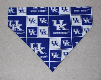 Kentucky Wildcats Dog Bandanna in Small, Medium, & Large