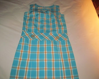Vintage Mid Century  Lovely  Girls / Ladies  Dress  M