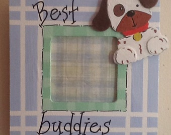 Friends picture frame, baby frame, big brother frame, sibling frame, best friend frame
