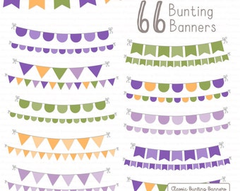 Professional Bunting Banner Clipart & Vectors in Crocus - Bunting Clipart,  Bunting Banner Vectors, Bunting Banner Clip Art, Banners