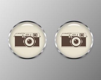Vintage Camera Cuff Links, Cufflinks C0106