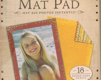 K & Company WILD SAFFRON Die-Cut Mat Pad