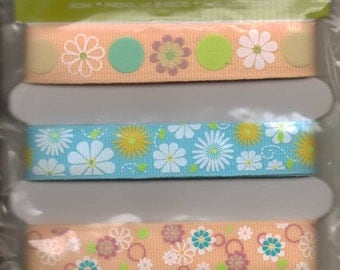 Die Cuts With A View FLOWER SPRING Adhesive Ribbon
