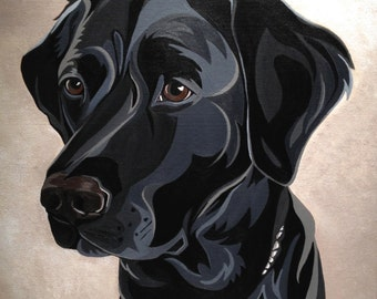Note Cards - Black Lab