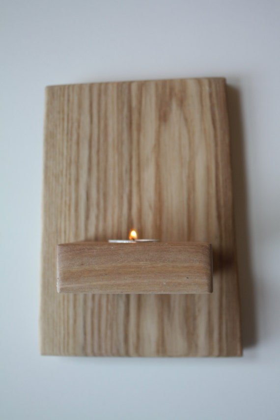 Wall Mounted Candle Lights : Items similar to Wall Mounted Tea Light 5 - Sconce & Candle Holder on Etsy